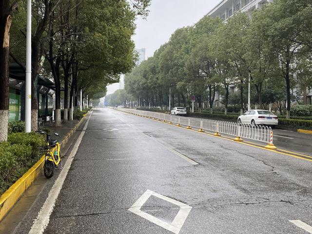 現在の武漢市の写真(街並み)